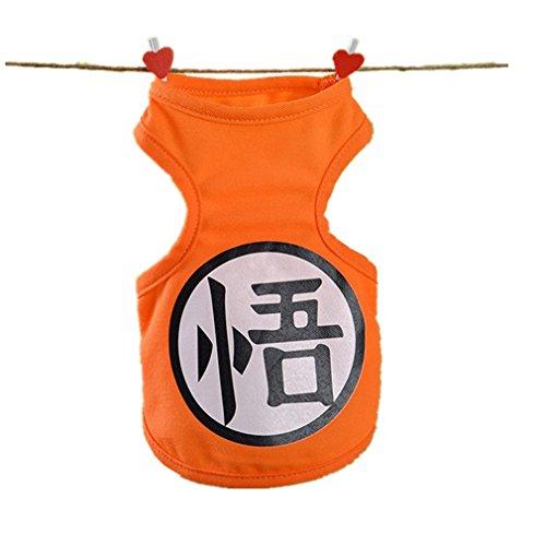 Goku Cat Halloween Costumes - Acccity Pet DBZ Costumes Halloween Cosplay