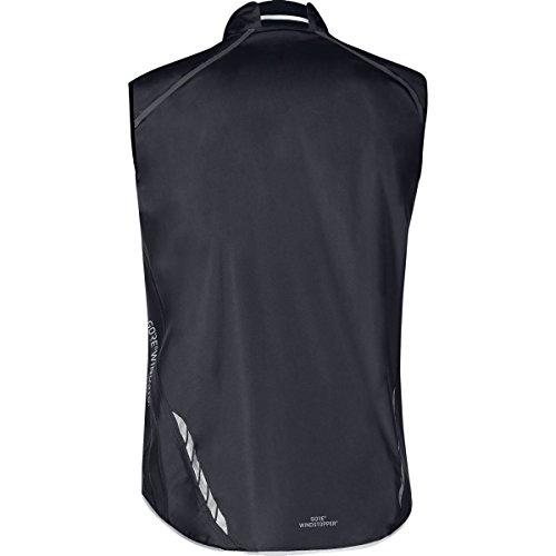 GORE BIKE WEAR, Men´s, Road cyclist vest, No sleeves, Ultra-lightweight and compact, GORE WINDSTOPPER, OXYGEN WS AS Light, Size S, Black, VWAOXY by Gore Bike Wear (Image #1)