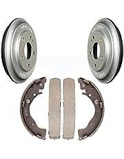 Rear Coated Brake Drum Shoes Kit For Honda Civic