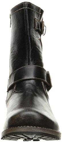 Bed | Stu Mens Ashton Engineer Boot Black Driftwood