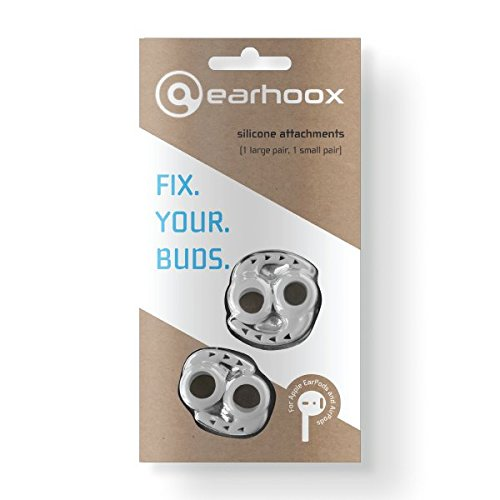 Earhoox 2.0 – for Apple EarPods & AirPods – White