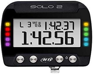 AIM SPORTLINE SOLO2 GPS BACKLIT LED LAP TIMER X47 SERIES