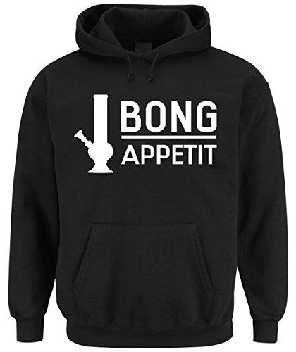 Bong Appetit Hooded-Sweater Black Certified Freak