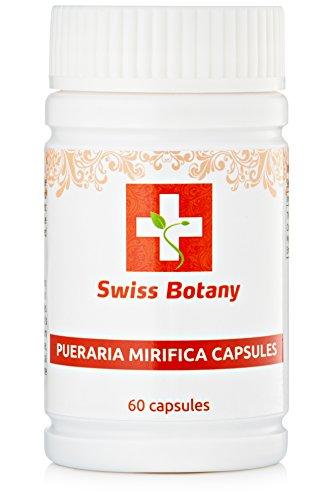 Pueraria Mirifica Capsules Naturelles D'Agrandissement De Sein & De La Fermeté Pilules - Suisse Botanique | ** 60 Capsules **