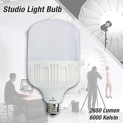 30watts 2650lm Super Bright Day Cool White 6000K LED Flood Light Spot Light Bulb