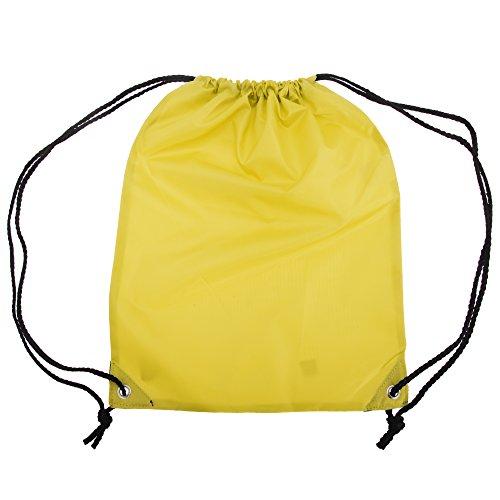 Shugon Stafford Plain Drawstring Tote Bag - 13 Litres Canary