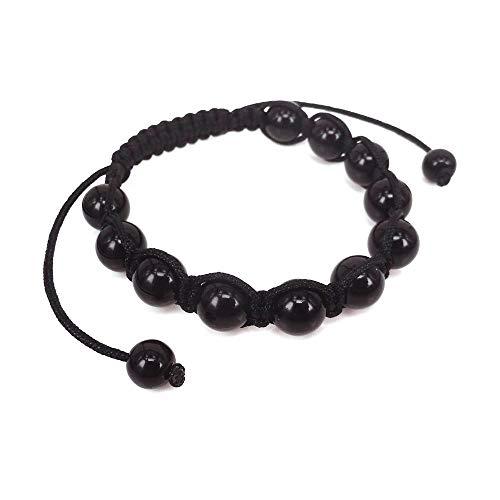 Best Sell! Fashion Men's Bracelet Arrival/Natural Lava Macrame Beads Bracelet,as A Festival Best ()