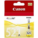 Canon CLI-521Y Pixma IP3600 Inkjet / getto d'inchiostro Cartuccia originale