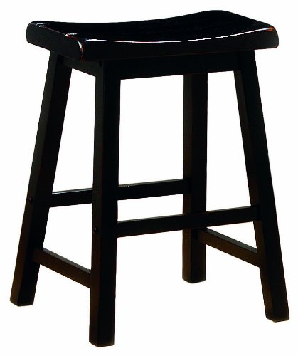 Astonishing Wooden 29 Bar Stools Black Set Of 2 Caraccident5 Cool Chair Designs And Ideas Caraccident5Info