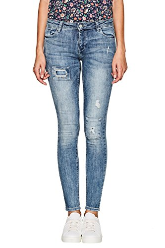 Esprit Skinny Blu Donna Jeans Medium blue Wash 902 Orq5O6B