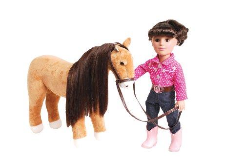Madame Alexander Brunette Polka Dot Doll with Horse