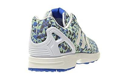 check out 84bb7 fa475 Amazon.com   adidas ZX Weave Men's Shoes Blue/White/Black ...