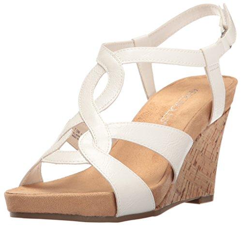 Aerosoles Womens Fabuplush Wedge Sandal