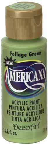 DecoArt Americana Acrylic Paint, 2-Ounce, Foliage Green by DecoArt ()