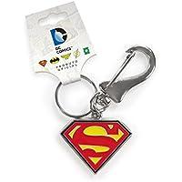 Chaveiro de Metal Superman Logo Oficial