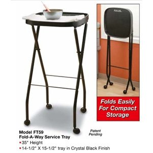 KAYLINE Chemical Service Station in Black Fold-A-Way Service Tray (Model: FT59) (Fold A Way Service Tray compare prices)