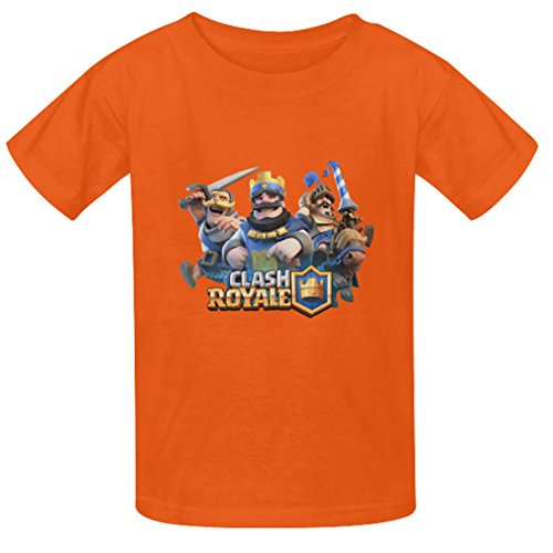 Generic Kids Boys Cool Photo Custon Clash Royale Game T Shirts Summer Tee