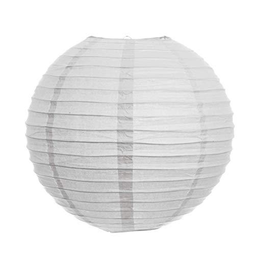 Decorfest Paper Lantern  16 inch, White