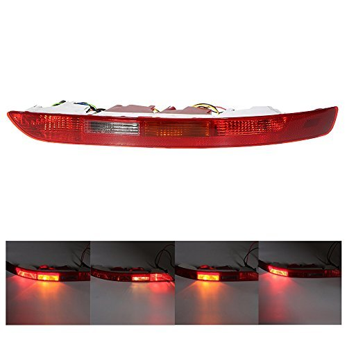 KKmoon Rear Right Side Tail Light Lower Bumper Tail Lamp for Audi Q5 2.0T 2009-2015 8R0945095B -