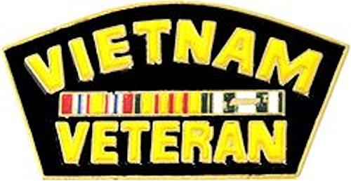(Vietnam Veteran Hat Pin)