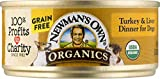 Newman'S Own Organics Turkey And Liver Grain-Free Food For Dogs, 5.5-Ounce (Pack Of 24)