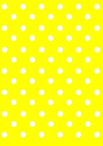 """Disagu Design Case Coque pour Apple iPhone 6s Housse etui coque pochette """"Gelb Weiß gepunktet"""""""