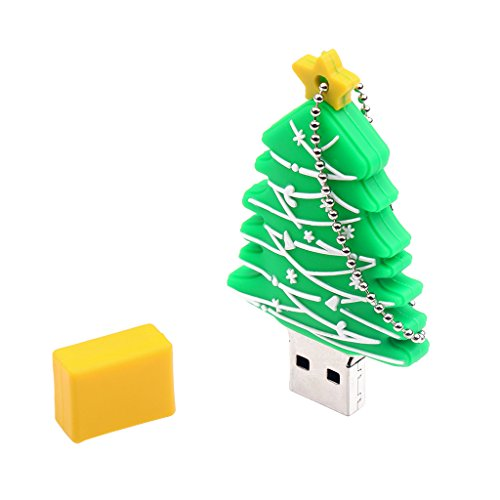 MagiDeal Pendrive USB2.0 Flash Drive Memory Stick Christmas