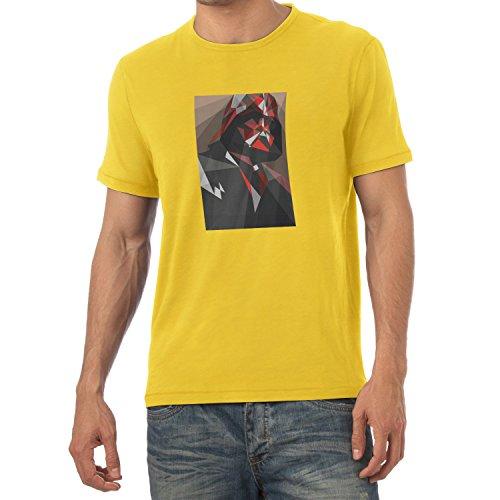 TEXLAB - Dark Art - Herren T-Shirt, Größe S, gelb