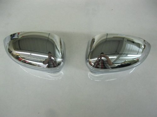 Fiat 500 Chrome Mirror Covers 82212366 by Fiat