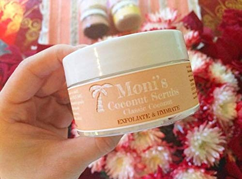 Coconut Face and Body Exfoliating Sugar Scrub, Natural Handmade Whipped Coconut Sugar Scrub, Natural Skin Care, Coconut Bath and Body ()