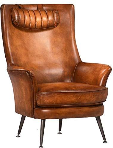Surprising Amazon Com Arm Chair Dovetail Kline Aged Top Grain Cow Alphanode Cool Chair Designs And Ideas Alphanodeonline