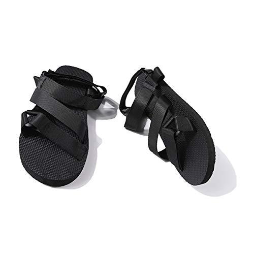 In Scivolo Estate Sandali Anti Tempo Beach da KPHY E donna Libero Scarpe Rimorchi I Black 40 Pantofole Respirabile Scarpe Uomini nwOYxt