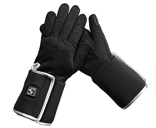 Savior Heated Gloves Electric Rechargeable Heated Gloves Thin Enough For Use As Glove - Glove Liners Heated Battery