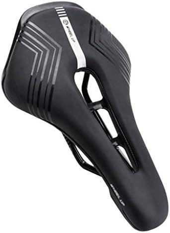 ゲルバイクシート、自転車サドルクッション、スプリングデザインの低反発パッド入り、PUレザー自転車シート