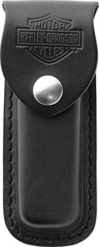 Case Harley-Davidson 52099 Embellished Genuine Leather Medium Sheath, black