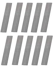 BOBEINI 10 stuks/partij voor zuiger Compressor Valve Plate 11 * 57mm Shrapnel Pakking Luchtcompressor Reservepapier