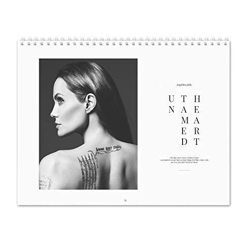 - Angelina Jolie - Untamed Hearth 2020 Wall Calendar