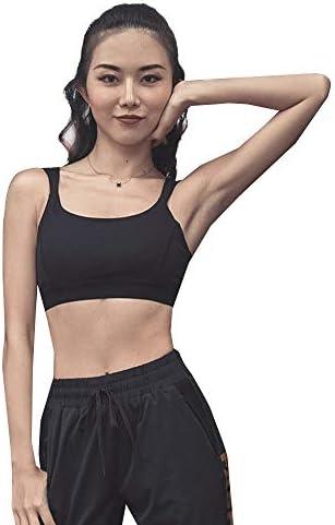 レディースジャージ上下セット 女性のスポーツ/レジャー/スポーツワークアウトヨガブラ (Color : Black, Size : XL)