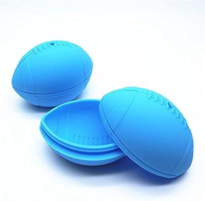 Silicona molde de cubo de hielo whisky balón de fútbol RUGBY hielo ...