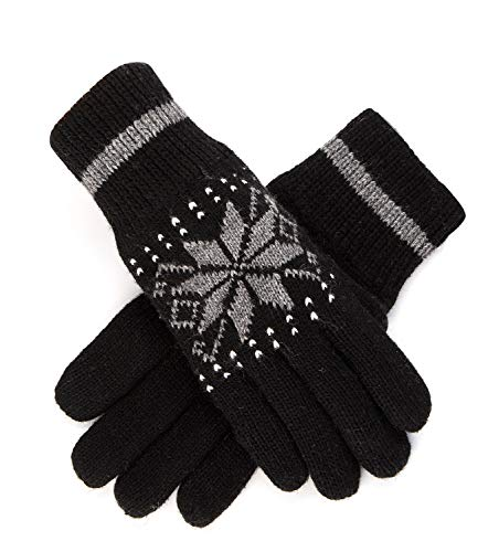 a8b83290cfba1 Women's Winter Knitted Gloves Thick Wool Warm Cold Weather Cable ...