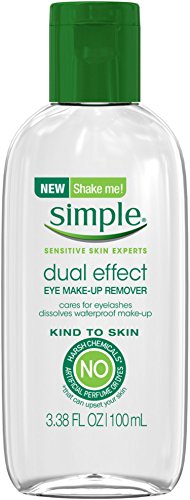 Simple Kind to Skin Dual Effect Eye Makeup Remover 3.38 oz (9 Pack)