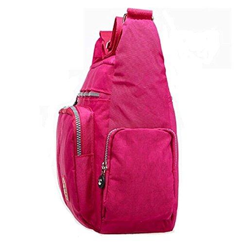 Xinweilan - Bolso mochila  de Otra Piel para mujer azul marino
