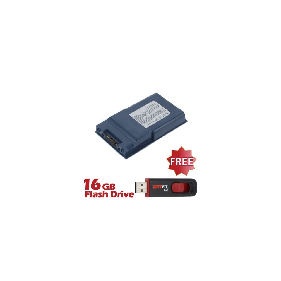 Battpit™ Laptop / Notebook Battery Replacement for Fujitsu FPCBP118AP (4400 mAh) with FREE 16GB Battpit™ USB Flash Drive