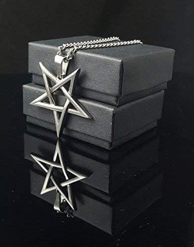 SigilofBaphomet.com Inverted Pentagram Pentacle 316L Stainless Steel