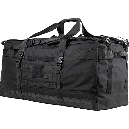 5.11 Tactical Rush Lbd Xray 5.11 Rush Lbd Xray Molle Tactical Duffel Bag Backpack, Style 56295, Black, One Size