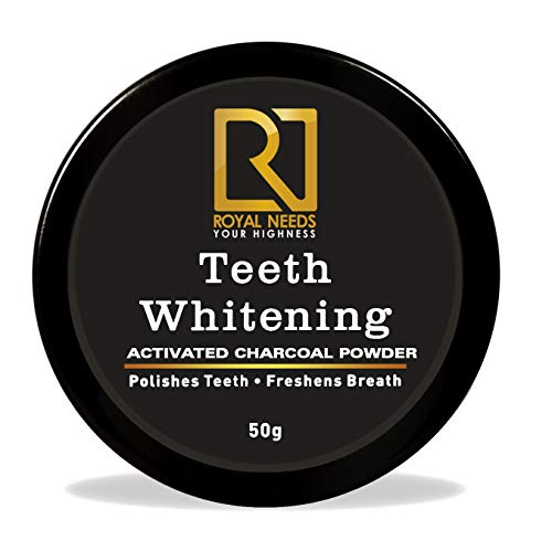 ROYAL NEEDS ; YOUR HIGHNESS charcoal powder I teeth whitening product I Organic activated coconut teeth whitener I…