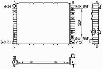 chevy equinox transmission diagrams amazon com radiator for 2005 chevrolet equinox 3 4l automotive  2005 chevrolet equinox 3 4l