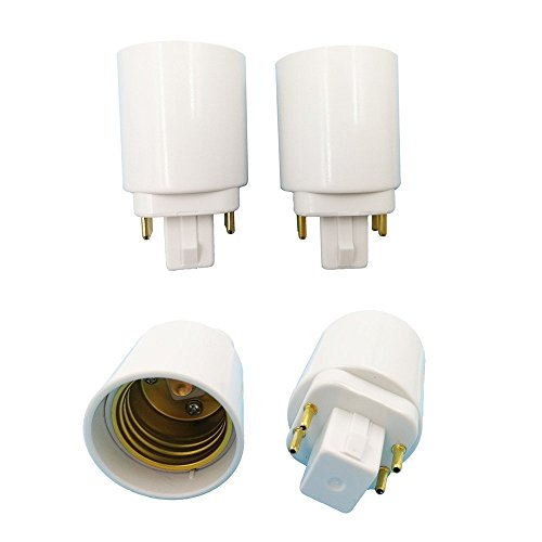 le to E26 female Converter (4 Pin Bulb)