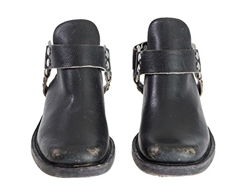 Schwarz Stiefeletten Balenciaga Leder Damen 454452WAYF01056 SAwxPqX