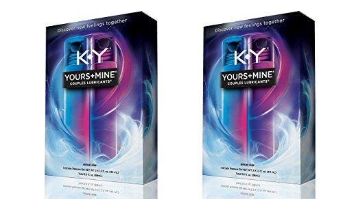 KY Yours & Mine oPaaRa Couples Lubricant, 3 oz. (Packaging may vary) (2 Units) by K-Y